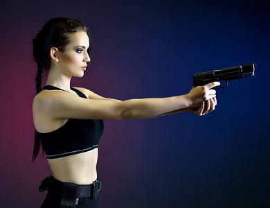 Sesja stylizowana (Lara Croft)