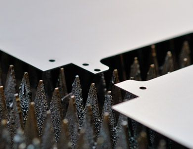 Ciecie stali laserem fiber - KIMLA